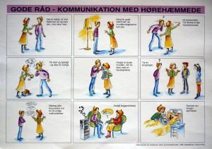 kommunikation med hoerehaemmede